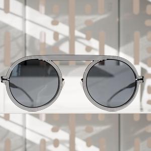 Studio 6 de Mykita: illusions d'optique pour lunettes de soleil