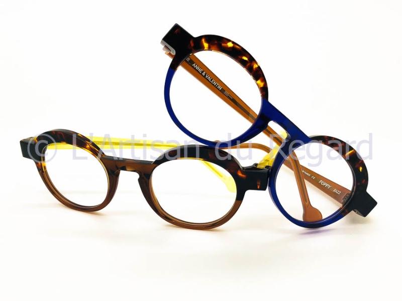 289e7b04cc7b3b Lunettes Anne   Valentin - lunettes tendances originales - opticien ...