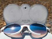 Etuit à lunettes en cuir Any Di