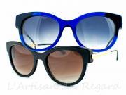 Thierry lasry lunettes bleu