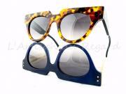 Jean Philippe Joly lunettes papillon écaille