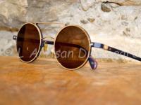 Lunettes de soleil AM eyewear rondes