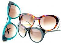 Thierry lasry lunettes de soleil colorées