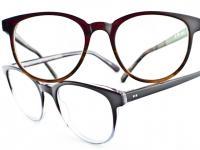 Masunaga lunettes colorées métal