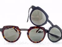 Anne et valentin lunettes de soleil originales métal
