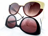 Caroline abram lunettes de soleil originales