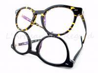 Harry Lary's lunettes écaille