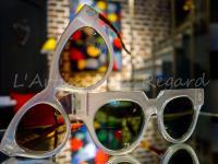 Jean Philippe Joly lunettes blanc transparent