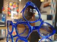 Kirk & Kirk lunettes bleu transparent