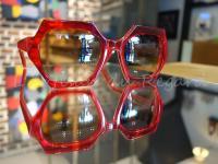 Kirk & Kirk lunettes rouge