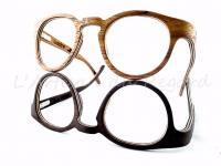 Woodone lunettes en bois ronde