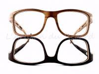Woodone lunettes en bois simple